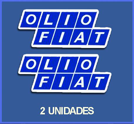 Stickers Olio Fiat Ref Dp58