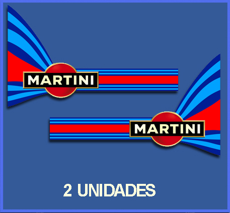 pegatinas martini racing ref dp131 ecoshirt pegatinas y. Black Bedroom Furniture Sets. Home Design Ideas