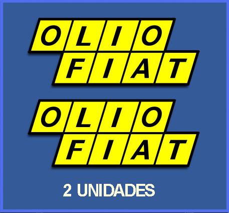 Stickers Olio Fiat Ref Dp170