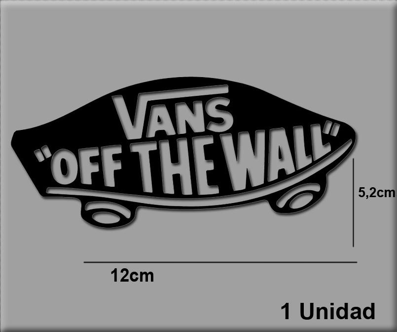 Pegatinas VANS OFF THE WALL REF  R40 - Ecoshirt pegatinas y vinilos ... a172182fa21