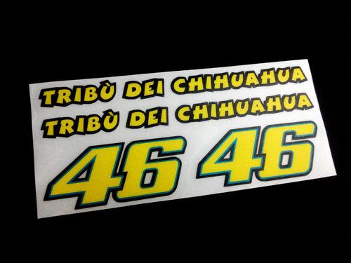Stickers Rossi 46 Moto Gp Refeco08 Stickers Valentino Aufkleber Decals