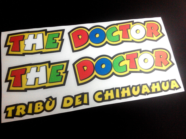 Stickers The Doctor Rossi 46 Moto Gp Eco09 Stickers Valentino Aufkleber