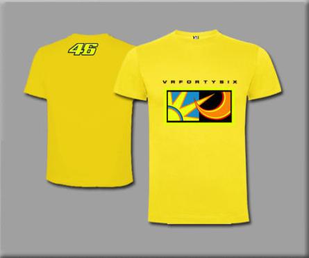 T Shirt Valentino Rossi 46 T Shirt Maglietta Moto Gp Rt1 Camicia Hemd