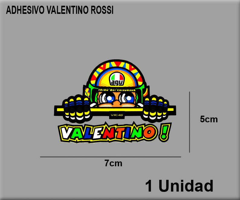 sticker 46 valentino rossi dp2100 decal aufkleber. Black Bedroom Furniture Sets. Home Design Ideas