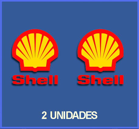 Des autocollants SHELL OIL REFORT : DP02