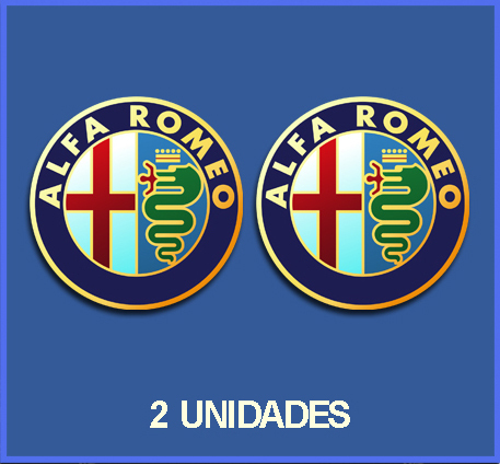 STICKERS ALFA ROMEO REF: DP12 CAR STICKERS MOTOR