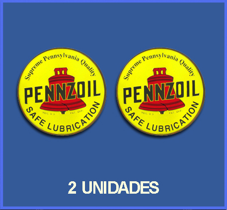 STICKERS PENNZOIL REF: DP18
