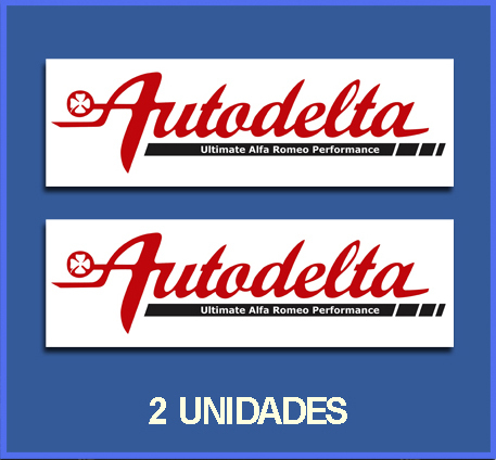 STICKERS AUTODELTA REF: DP34