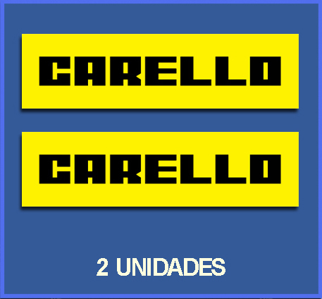 STICKERS CARELLO REF: DP49
