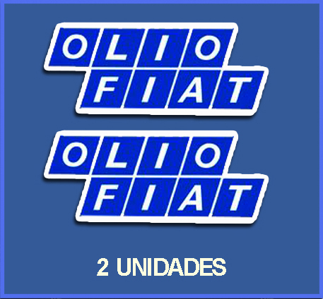 STICKERS OLIO FIAT REF: DP58