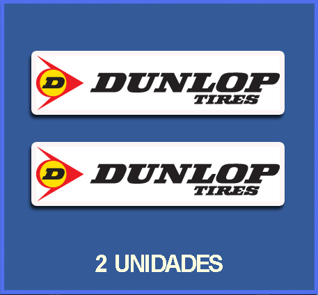 STICKERS DUNLOP TIRES REF: DP62
