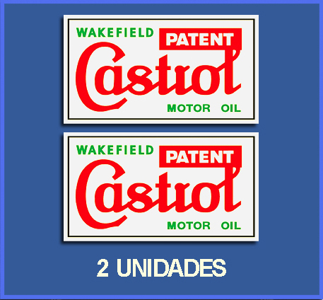 STICKERS CASTROL OLD REF: DP26