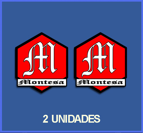 STICKERS MONTESA REF: DP30