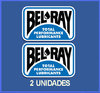 Des autocollants BEL-RAY  OIL REFORT: DP36.