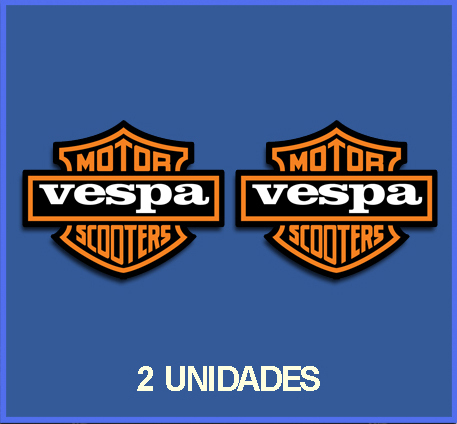 STICKERS VESPA REF: DP70