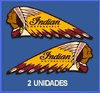 Des autocollants INDIAN  MOTORCYCLE REFORT: DP278