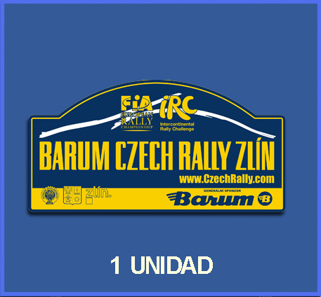 Pegatina BARUM RALLY REF: DP424