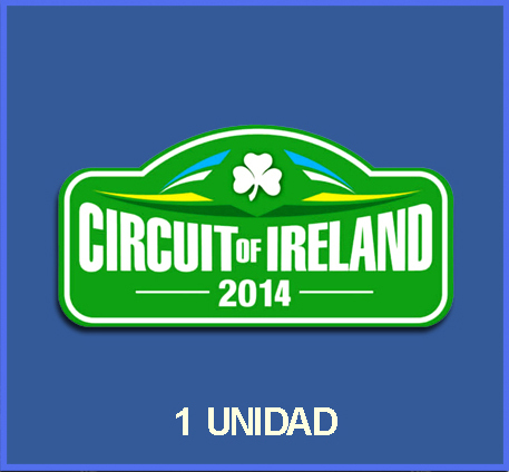 Pegatina RALLY IRELAND 2014 REF: DP448