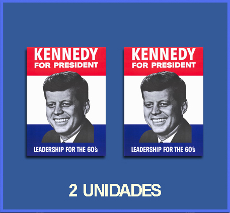 Pegatinas KENNEDY FOR PRESIDENT REF: DP81