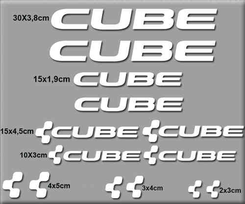 STICKERS CUBE BIKE REF: R38