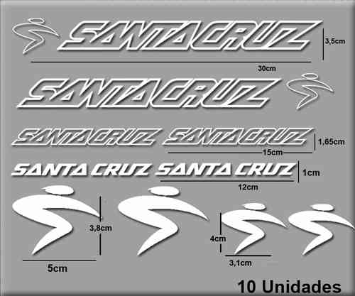STICKERS SANTA CRUZ BIKE REF: R56