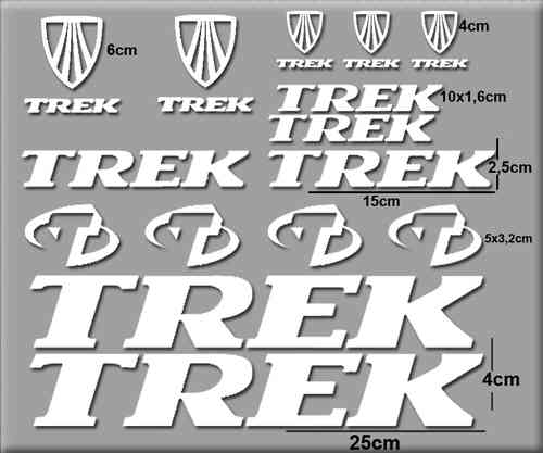 STICKERS TREK BIKE REF: R75