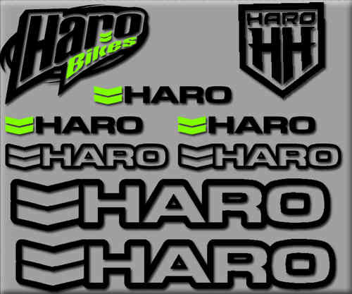 STICKERS HARO BIKE REF: R200