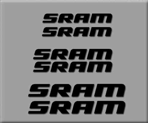 STICKERS SRAM BIKE REF: R211