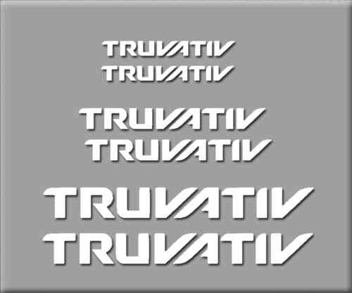 STICKERS TRUVATIV BIKE REF: R212