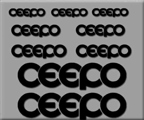 STICKERS CEEPO BIKE REF: R218