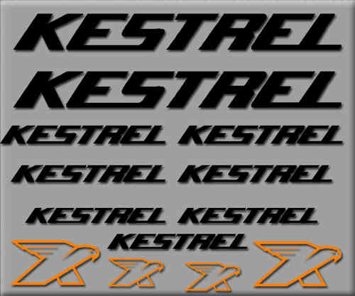 STICKERS KESTREL BIKE REF:  R226