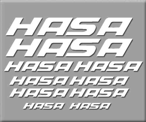 STICKERS HASA BIKE REF: R228