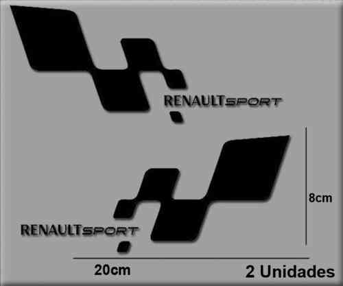 STICKERS RENAULT SPORT RS REF: R33