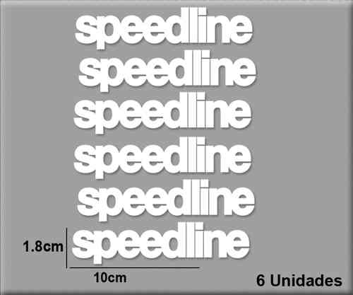 STICKERS SPEEDLINE REF: R50