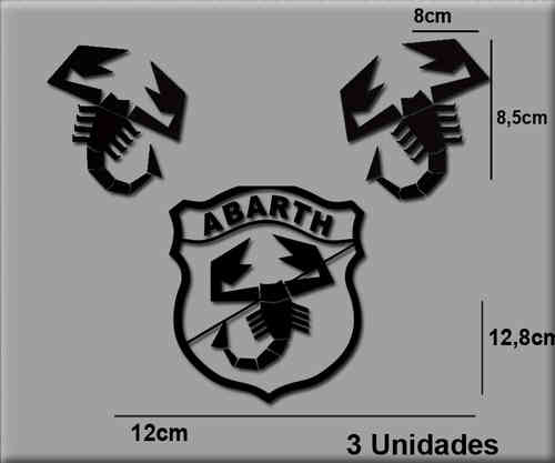 STICKERS ABARTH REF: R54