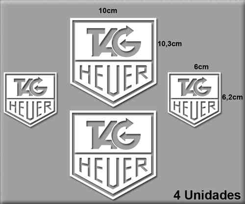 STICKERS TAG HEUER CLOCK REF: R68