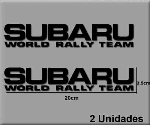 STICKERS SUBARU WRT REF: R185