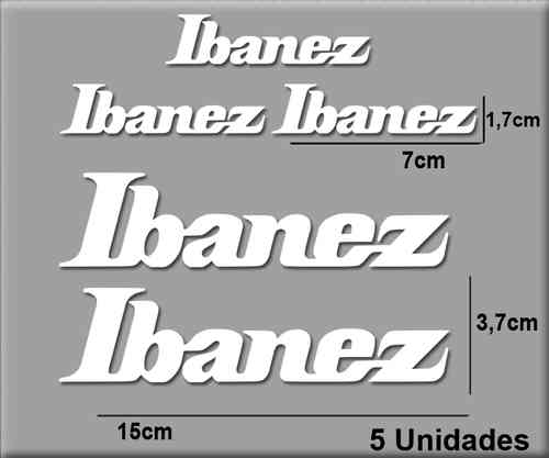 STICKERS IBANEZ GUITAR REF: R135