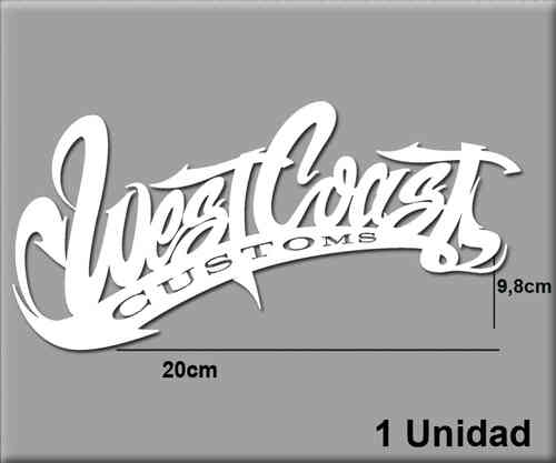 STICKERS WEST COAST REF: R43
