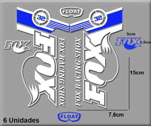 Stickers Fox Float 32 Bikes Ref R141