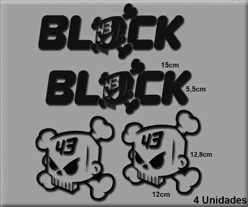STICKERS KEN BLOCK REF: R77