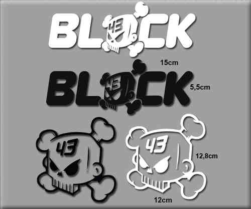 STICKERS KEN BLOCK COMBINACIÓN COLOR REF: R077