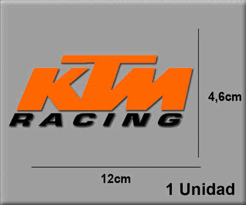 STICKERS KTM RACING REF: R13
