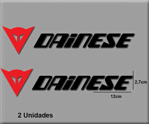 STICKERS DAINESE RED BLACK REF: R092