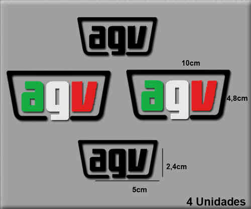 STICKERS AGV REF: R97