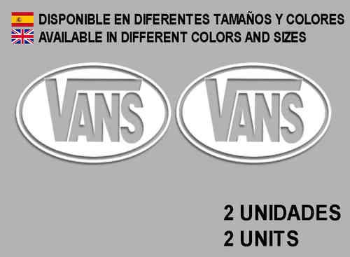 Pegatinas VANS REF  F01 - Ecoshirt pegatinas y vinilos personalizados 409af53fe22