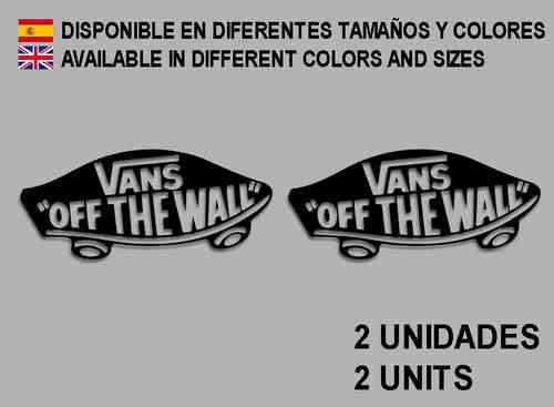 Pegatinas VANS REF  F04 - Ecoshirt pegatinas y vinilos personalizados a6abcb23d3f