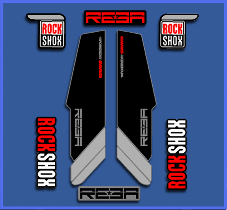 STICKERS ROCK SHOX REBA REF: DP1020