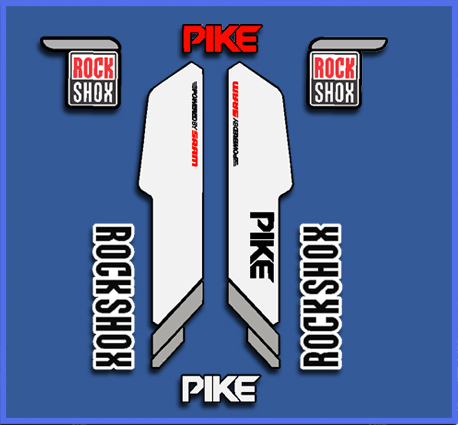 STICKERS ROCK SHOX PIKE REF: DP1021