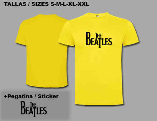 CAMISETA T SHIRT THE BEATLES REF: TSC28